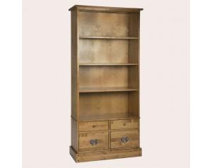 Garrat Honey 4 Drawer Single Bookcase