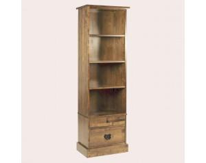 Garrat Honey 2 Drawer Single Bookcase