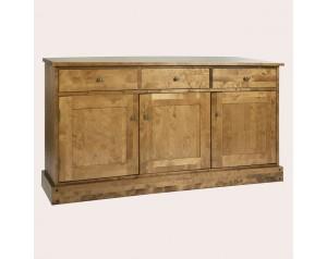 Garrat Honey 3 Door 3 Drawer Sideboard