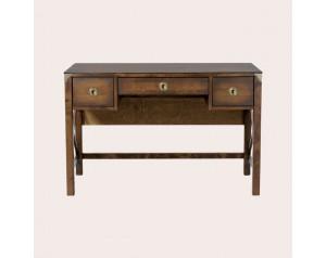 Balmoral Dark Chestnut 3 Drawer Desk