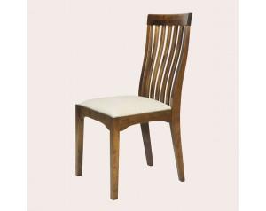 Garrat Dark Chestnut Pair Of Dining Chairs