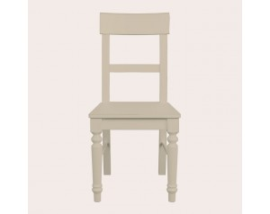 Dorset Soft Truffle Pair Of Dining Chairs
