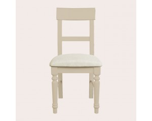 Dorset Soft Truffle Pair Of Upholstered Dining Chairs