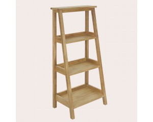 Milton Oak Low Ladder Storage Unit