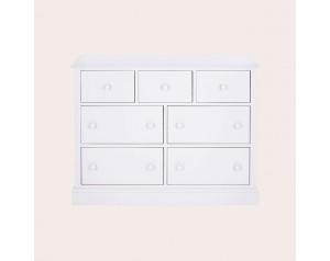 Ashwell Cotton White 3+4 Chest