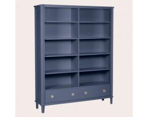 Henshaw Dusky Seaspray 2 Drawer Double Bookcase