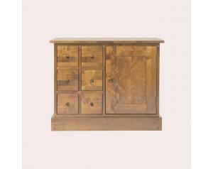 Garrat Honey 1 Door 6 Drawer Sideboard