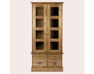 Garrat Honey 2 Door 4 Drawer Display Unit