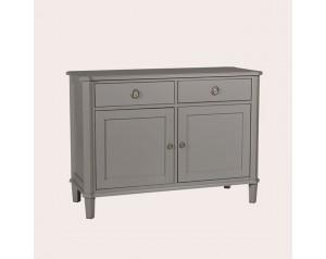 Henshaw Pale Charcoal 2 Door 2 Drawer Sideboard