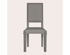 Henshaw Pale Charcoal Pair Of Dining Chairs