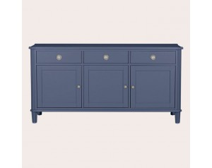 Henshaw Dusky Seaspray 3 Door 3 Drawer Sideboard