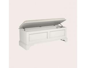 Clifton Dove Grey Blanket Box