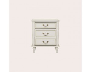 Clifton Dove Grey 3 Drawer Bedside Chest
