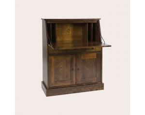 Garrat Dark Chestnut 2 Door 3 Drawer Bureau