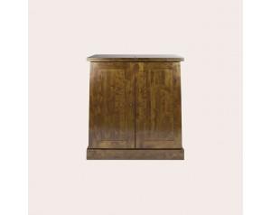 Garrat Dark Chestnut Drinks Cabinet