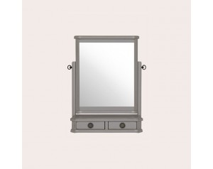 Henshaw Pale Charcoal Dressing Table Mirror