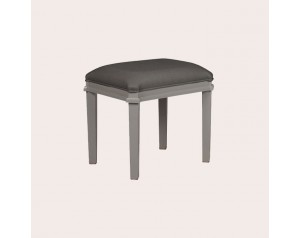 Henshaw Pale Charcoal Dressing Table Stool