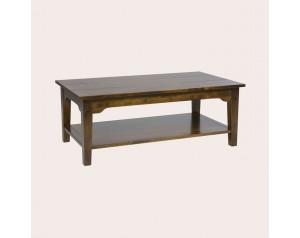 Garrat Dark Chestnut Rectangular Coffee Table