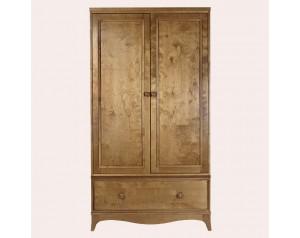 Broughton Honey 2 Door 1 Drawer Wardrobe