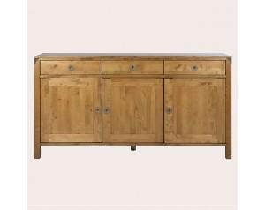 Balmoral Honey 3 Door 3 Drawer Sideboard