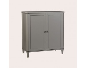 Henshaw Pale Charcoal Drinks Cabinet