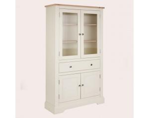 Dorset White 4 Door 1 Drawer Storage Unit