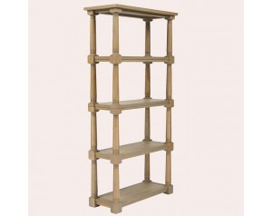 Wellington Oak Single Bookcase