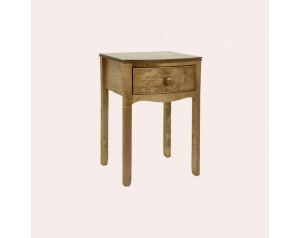 Broughton Honey Bedside Table