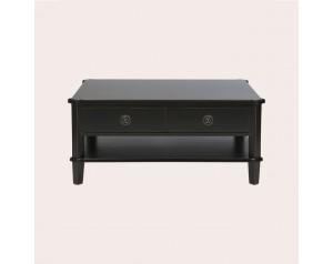 Henshaw Black 2 Drawer Coffee Table