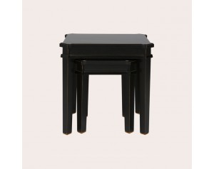 Henshaw Black Nest Of Tables