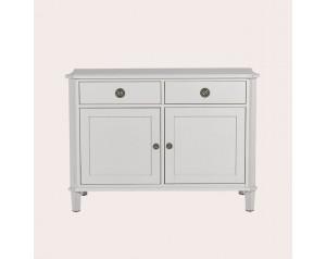 Henshaw Pale Steel 2 Door 2 Drawer Sideboard