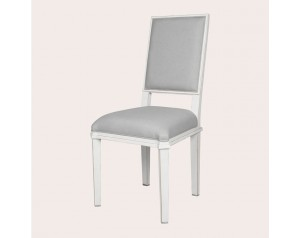 Henshaw Pale Steel Pair Of Dining Chairs