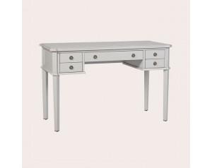Henshaw Pale Steel 5 Drawer Desk