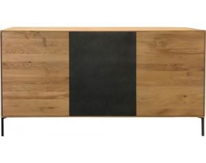 Helga oak 3 door sideboard