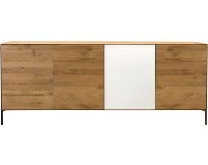 Helga oak 4 door sideboard