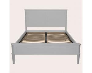 Henshaw Pale Steel Bed Frame
