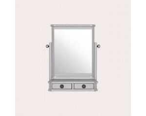 Henshaw Pale Steel Dressing Table Mirror
