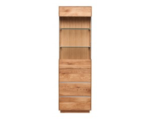 Fargo Oak Single Display Unit