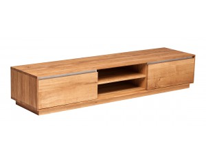 Fargo Oak Long TV Unit