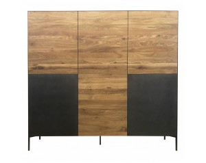 Ortello oak highboard 6D