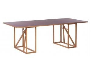 1x1 Linoleum Trestle Dining table