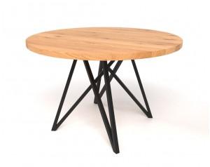 Korgen Oak Round Dining Table