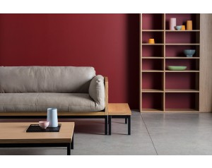 Legna Platform Square Table by Another Brand