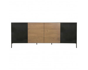 Ortello oak 4 door sideboard