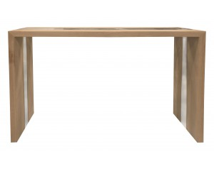 River Oak Console Table