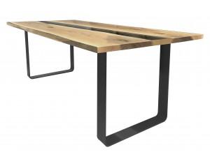 River Oak Dining Table