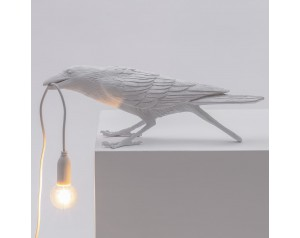 Bird Lamp Playing White