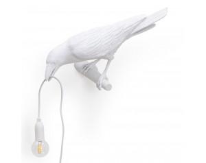 Bird Lamp Looking White