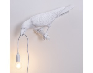 Bird Lamp Looking White