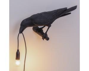 Bird Lamp Looking Black